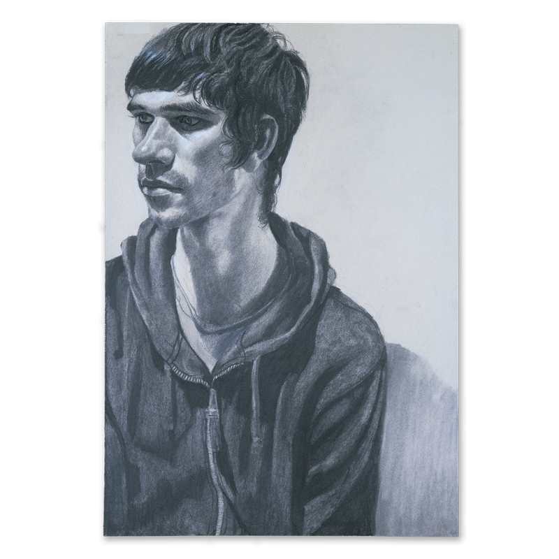 Portraits drawing male. Portrait of ben whishaw
