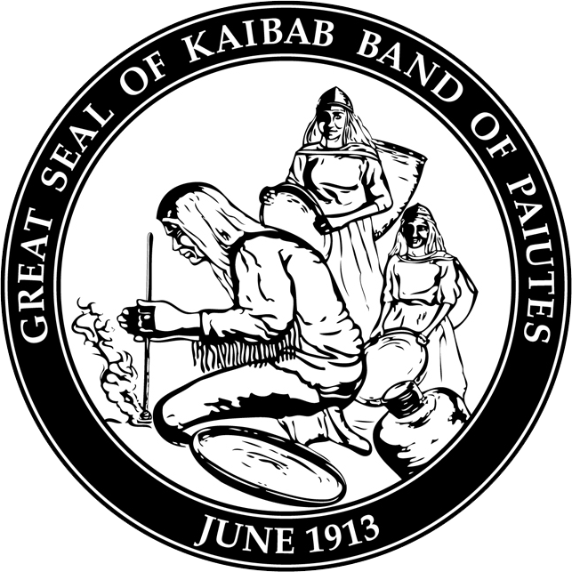 Tribal transparent band. Kaibab national forest relations