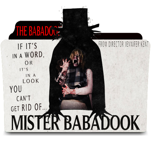 Babadook transparent mister. The folder icon by