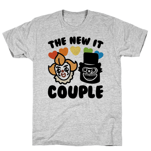 Babadook transparent pennywise. The new it couple