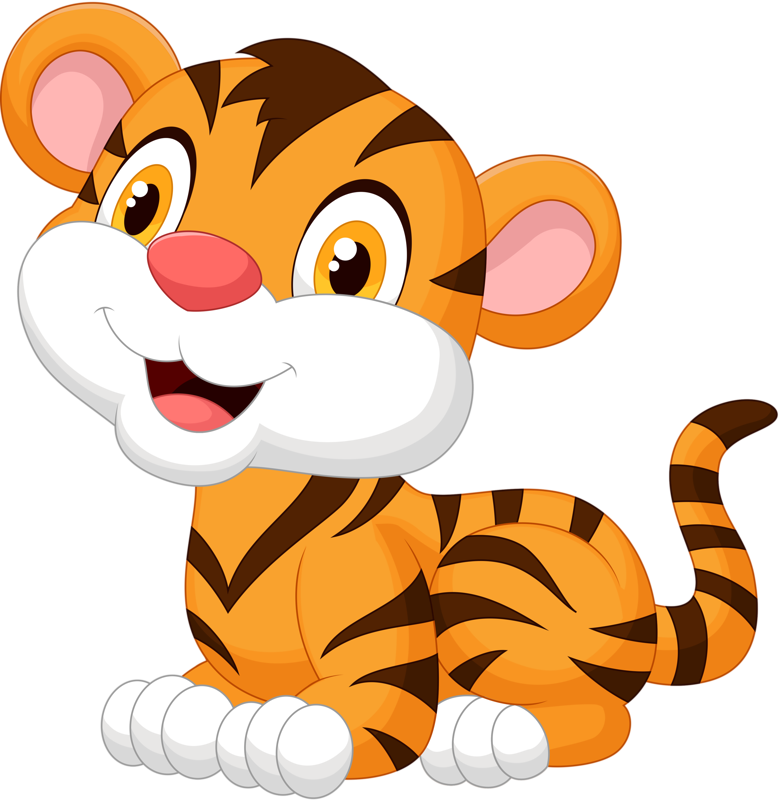Baby big cats png. Pinterest tigers cartoon