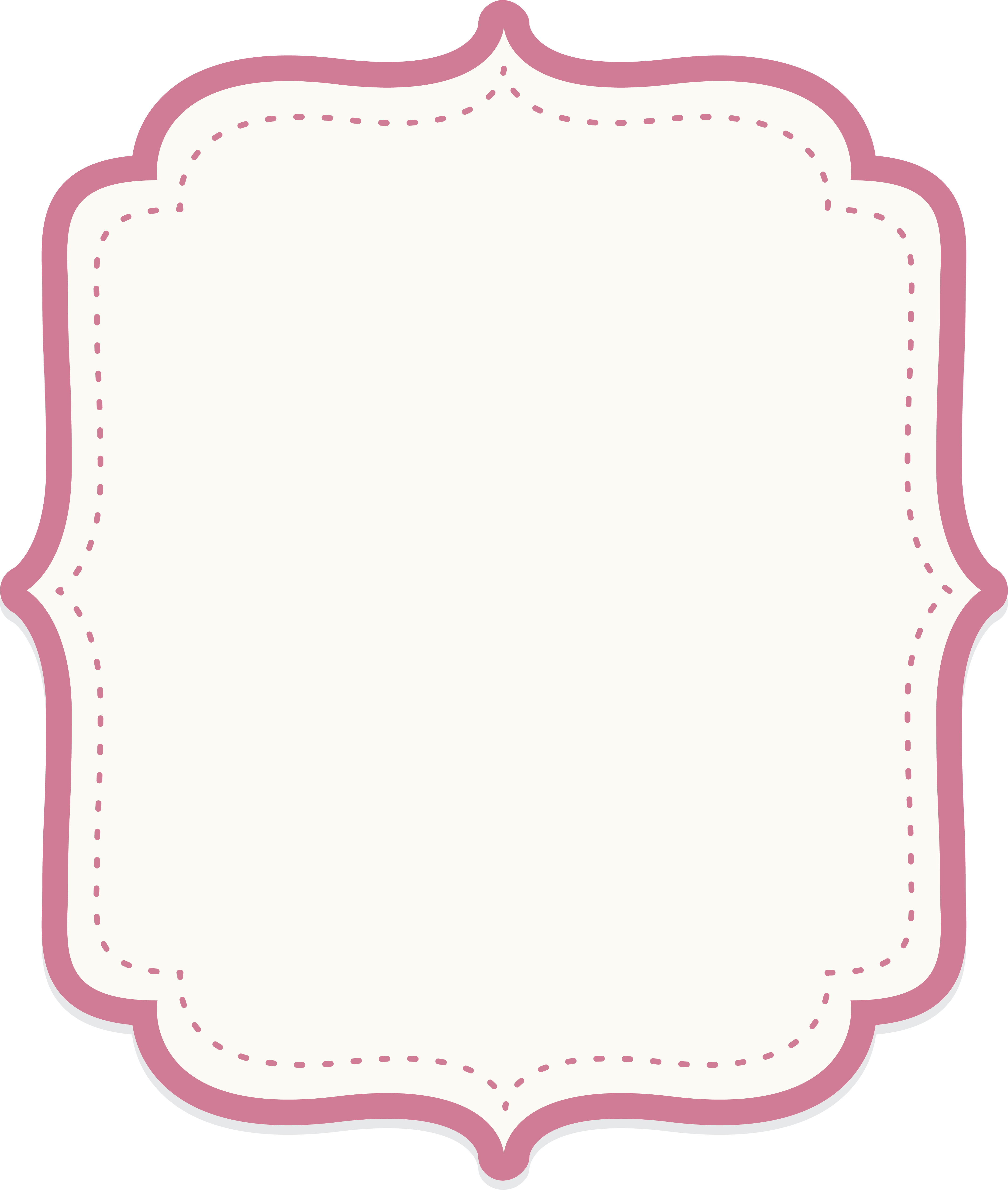 Baby border png. Icon cute powder text