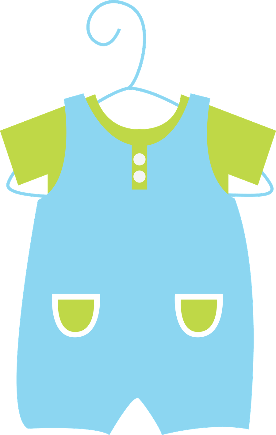 baby clothes clipart png