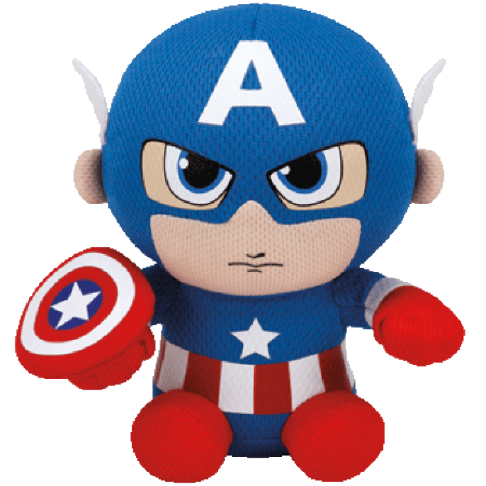 Baby captain america png. Ty beanie babies