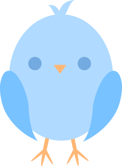 Baby clipart blue bird. Cute cliparts co planner