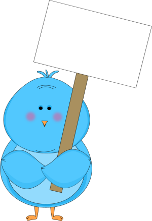 Baby clipart blue bird. Signs