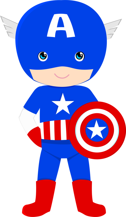 Luh happy s profile. Baby clipart captain america image free download