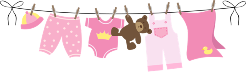 Baby clipart group imagenes. Clothesline clip jpg library library