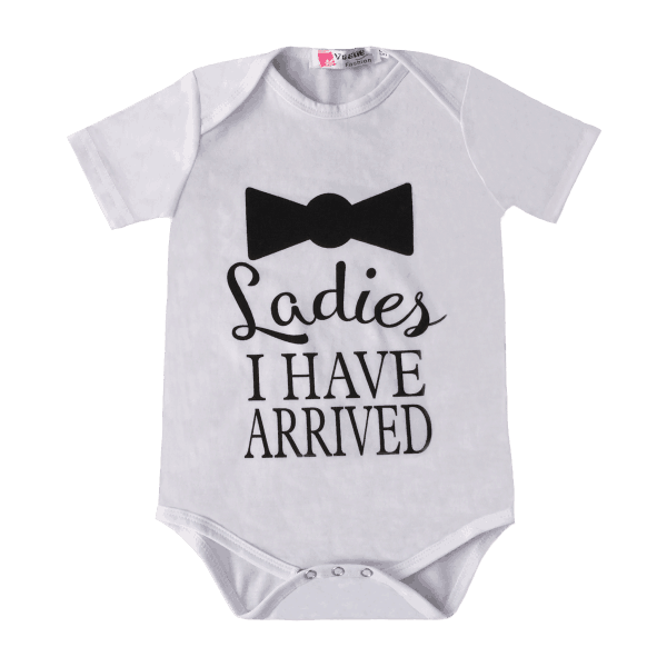 Baby clothes png. Funny boys summer bodysuit