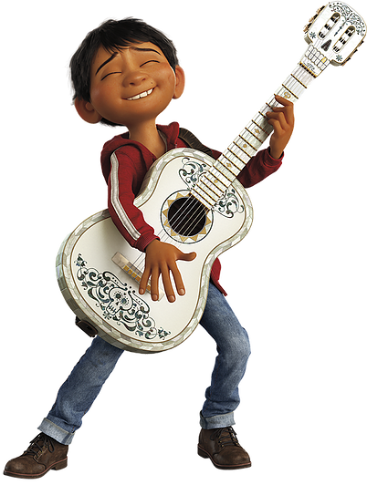 coco movie guitar png