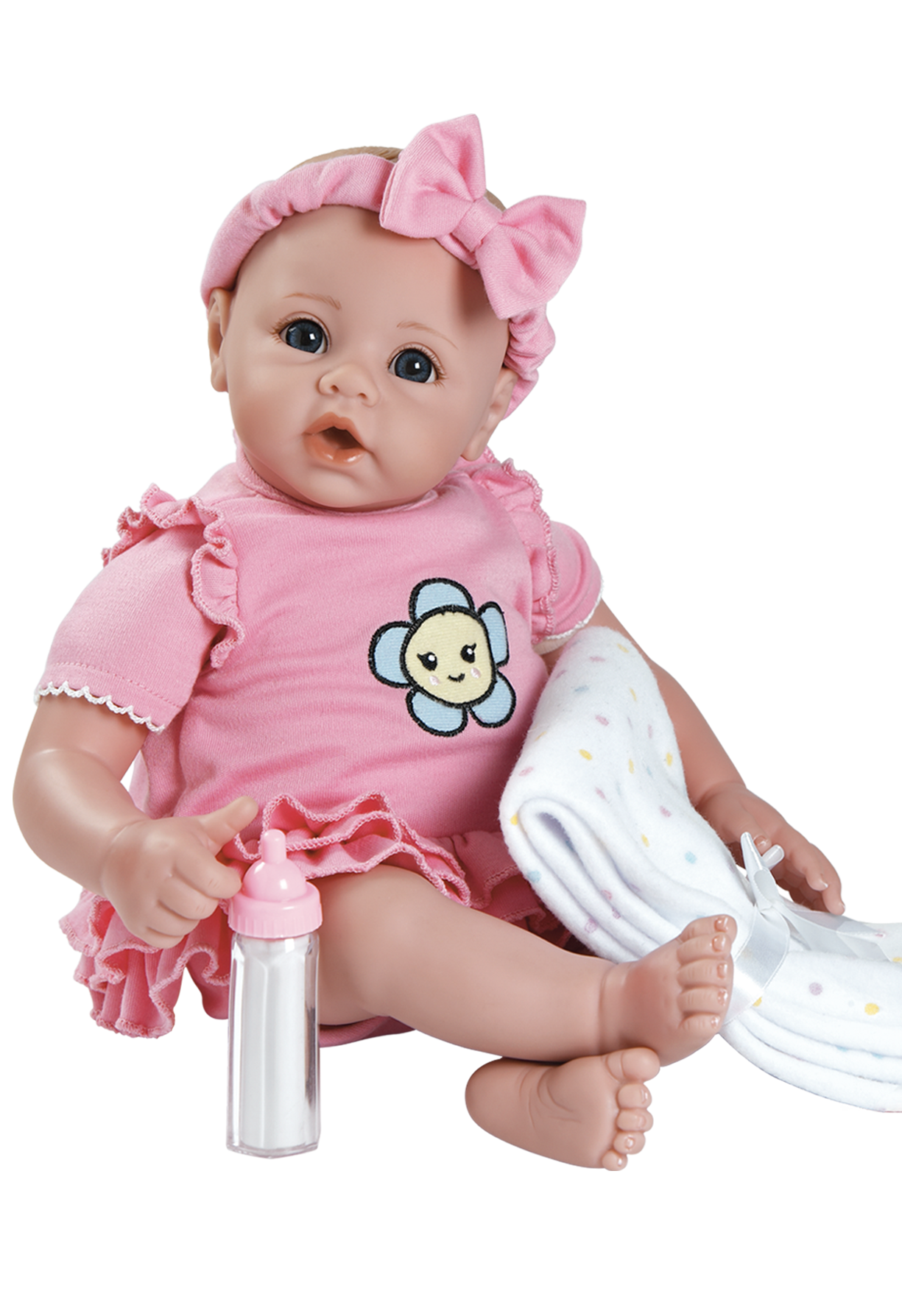Baby doll png. Adorable girl preemie size