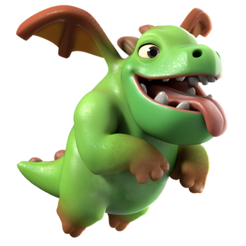 Goblin clash png. Image baby dragon info