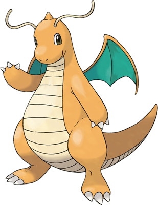 Baby dragonite png