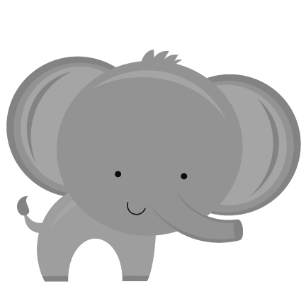 Elephants svg easy. Baby elephant png background