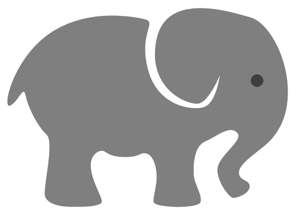 Elephants svg grey baby. Elephant png download image