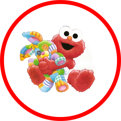 Baby elmo png. Beb con come galletas