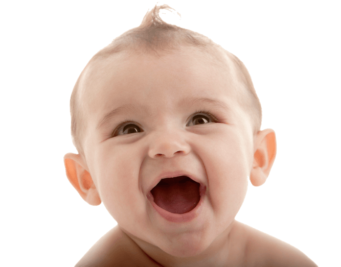 Baby face png. Happy transparent stickpng