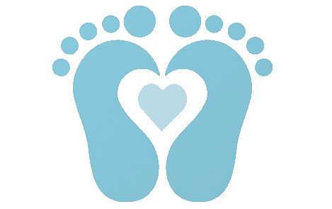 footprints svg baby hand