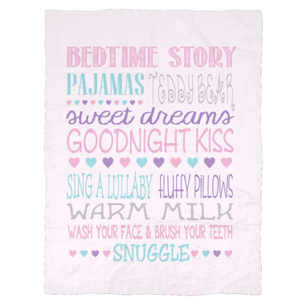 Baby girl blanket png. Little bedtime routine ultra