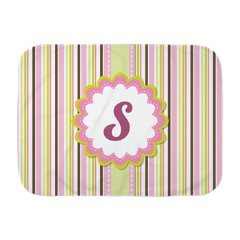 Monogram letter s pink. Baby girl blanket png png freeuse stock