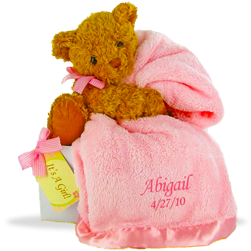 Baby girl blanket png. Goldie bear s little