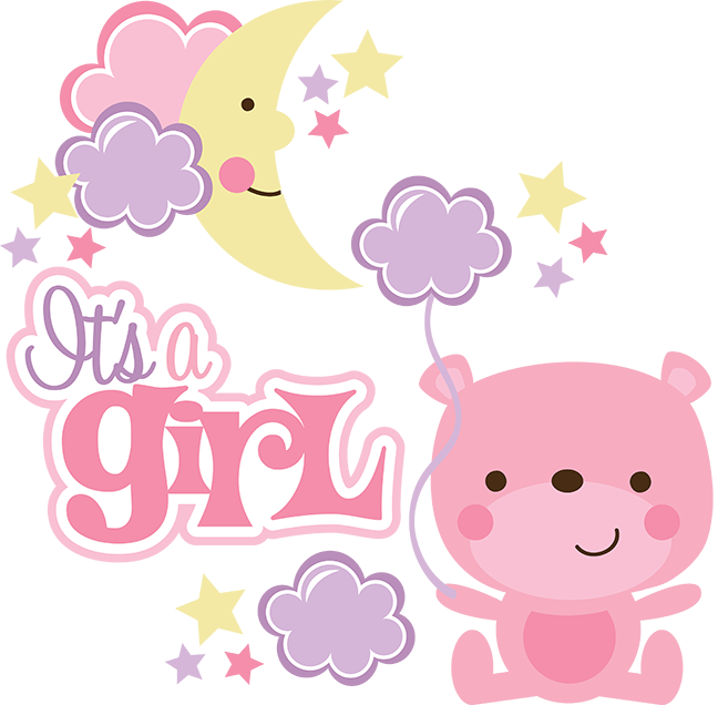 Baby girl clipart png. Its a transparent images