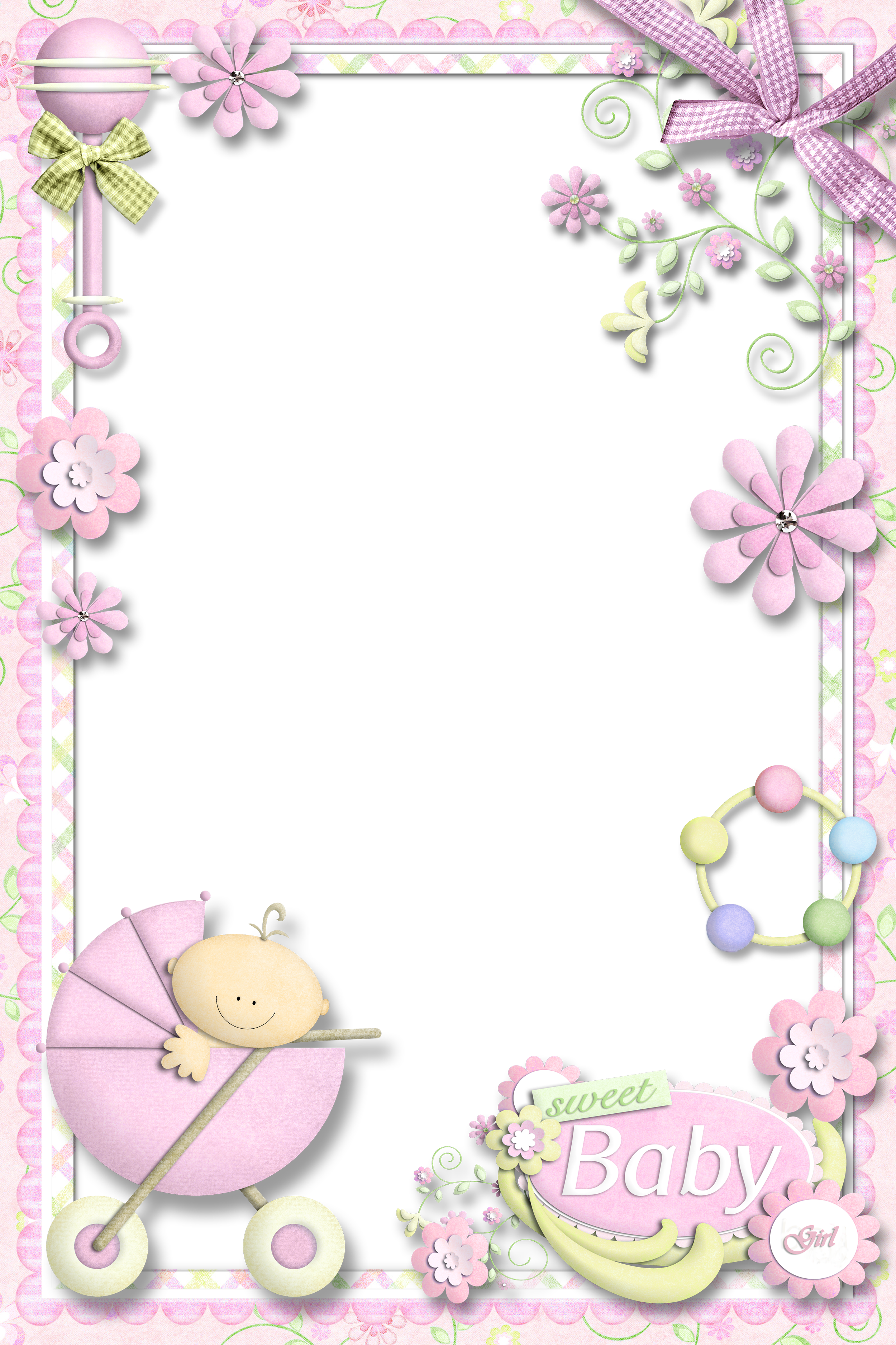 Baby girl frame png. Photo for gallery yopriceville