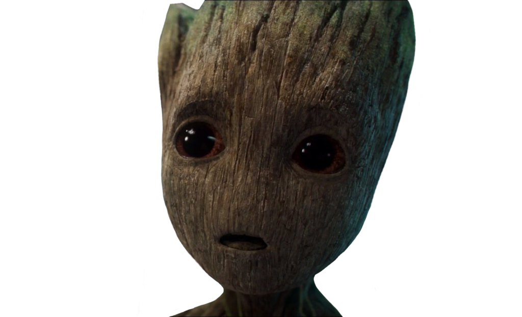 groot transparent bby