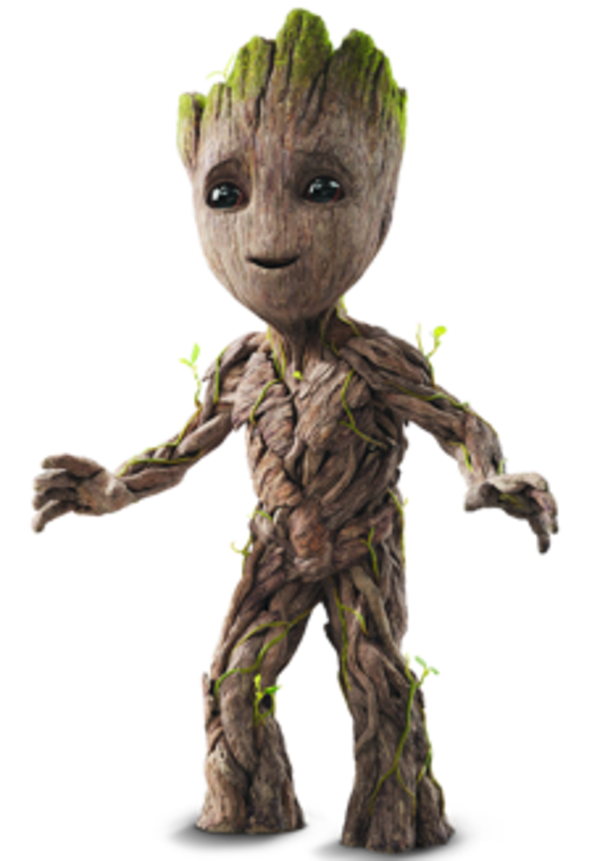 groot transparent big