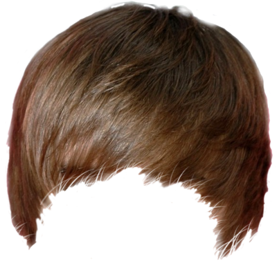 hair model transparent png