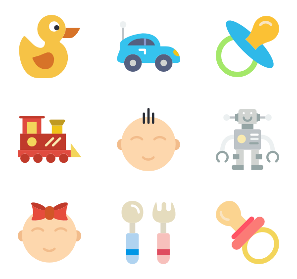 Baby icons png. Icon packs vector