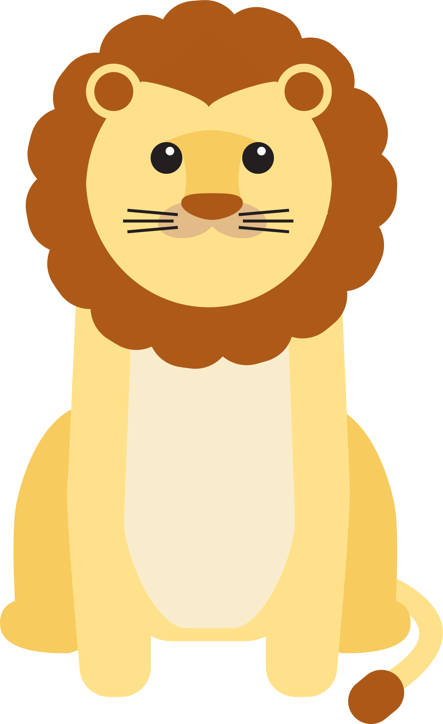 Cartoon lion png. Baby icons free and