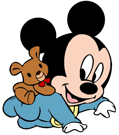 Baby mickey and minnie mouse png. Disney babies clip art