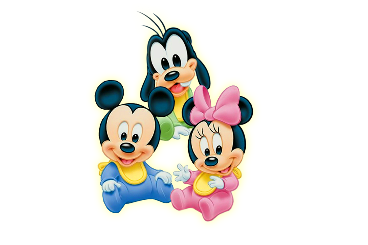 Baby mickey and minnie mouse png. Clipart panda free images