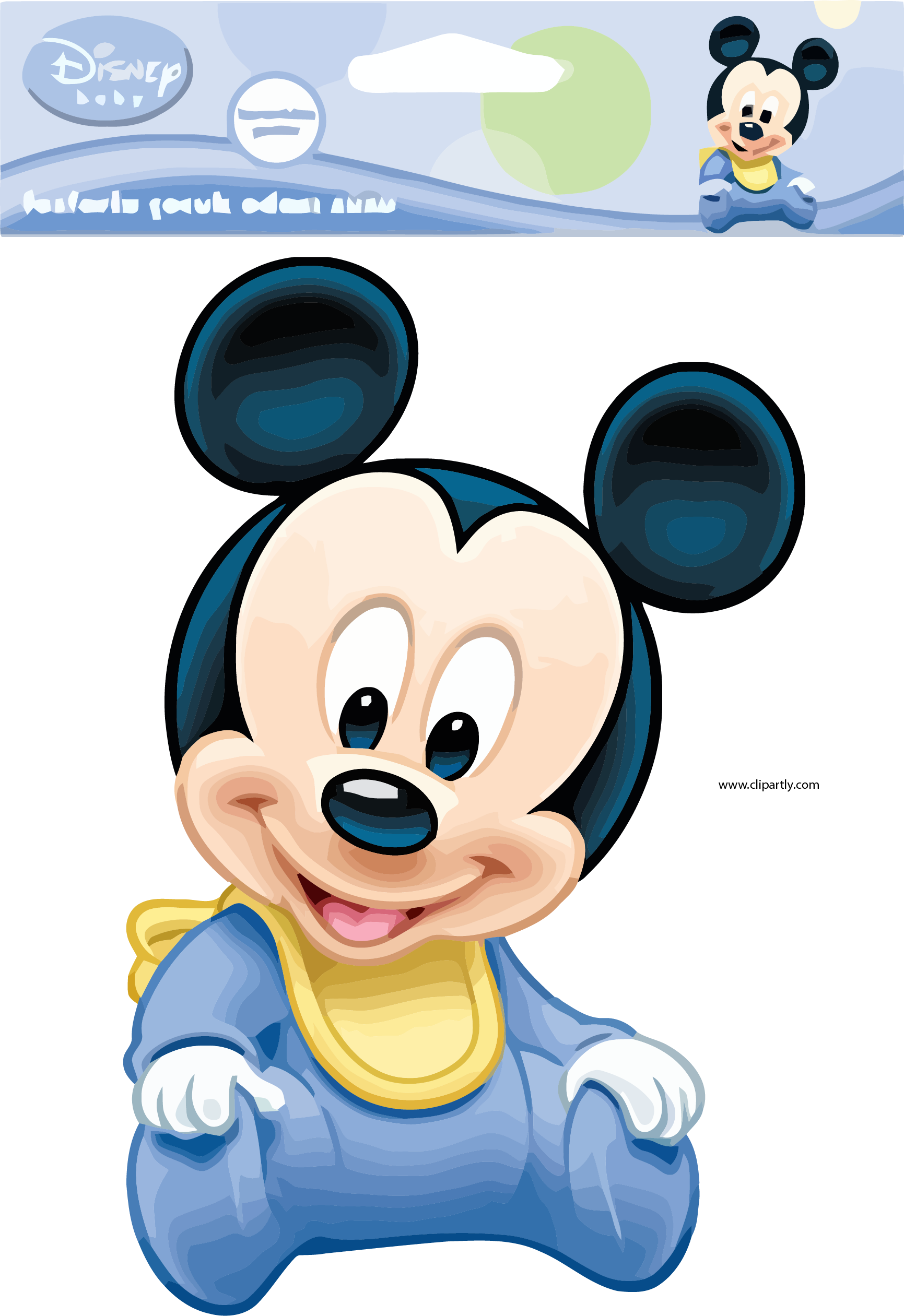 Baby Mickey Mouse Transparent Png Clipart Free Download Ywd