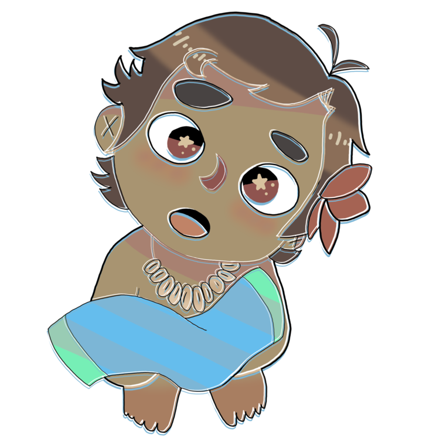 Baby moana png. By remems on deviantart