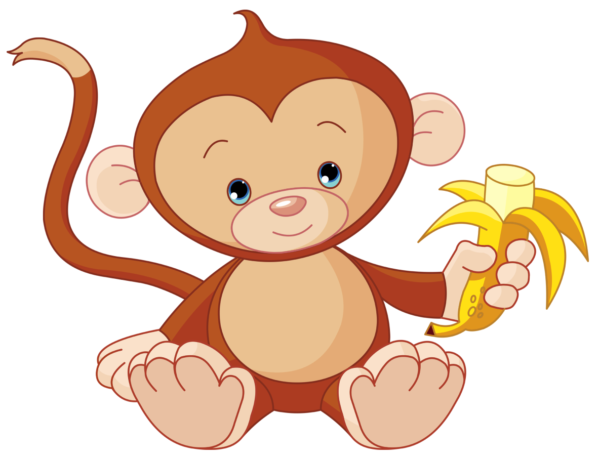 Monkeys bananas clipart png. Monkey picture video game