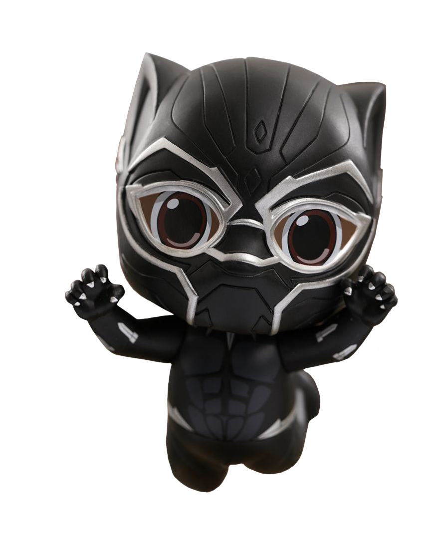 Black panther head png. Avengers infinity war cosbaby