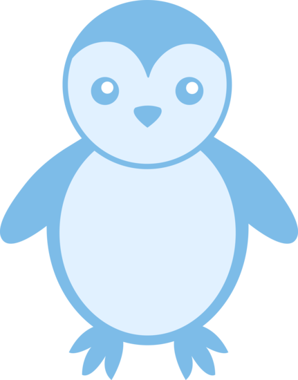 Baby penguin png. Silhouette at getdrawings com