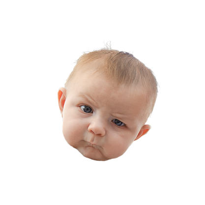 Baby rage png. Image skeptical know your image library download