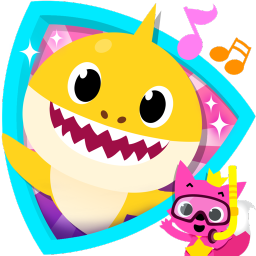 Baby shark clipart happy. Pinkfong app ranking and