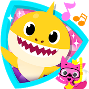 Baby shark clipart blue. Pinkfong for android free
