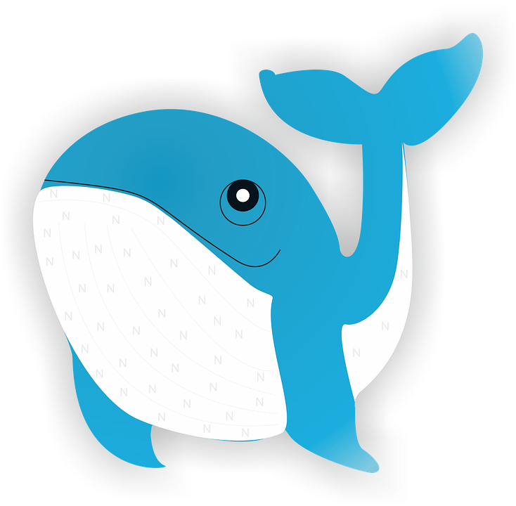 Baby shark clipart. Blue png free