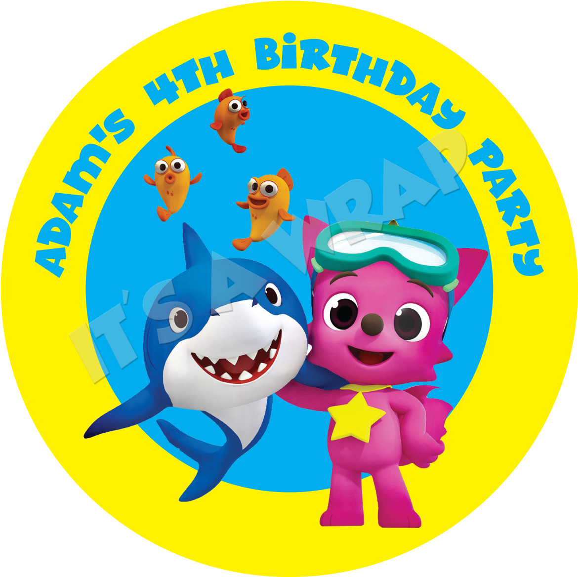 Baby shark png. Download hd party box
