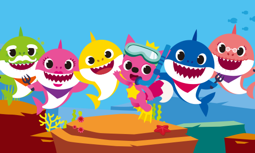 Baby shark png character. Astro partners company known