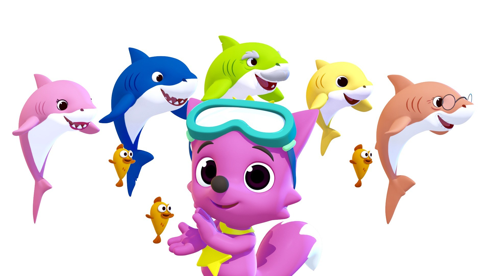 Baby shark png character. Pinkfong s becomes global