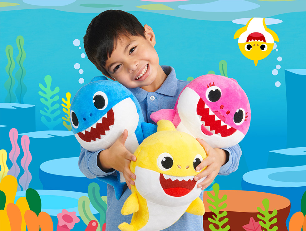 Baby shark png original. Pinkfong official toys by