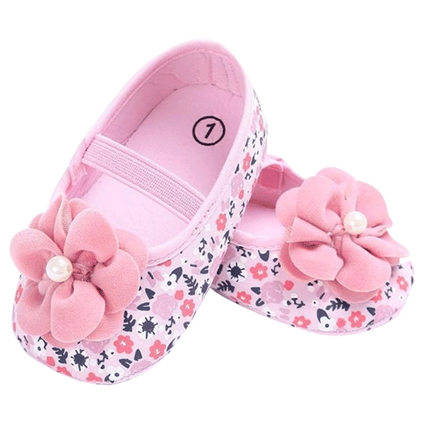Pink baby shoes png