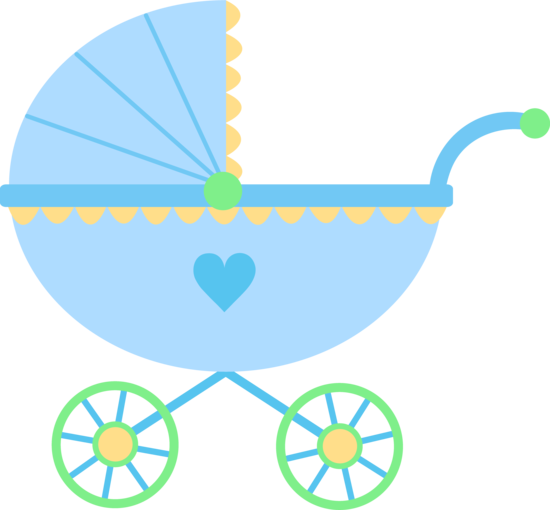Baby shower boy png. Awesome buggy clipart