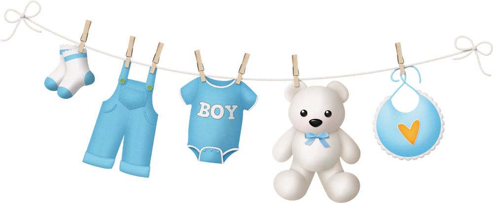 Baby shower boy png. Clothes line pinterest boys